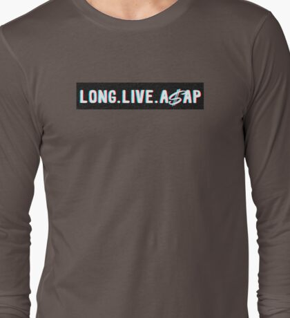 Long Live A$AP Long Sleeve T-Shirt