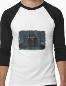 Fight Club - Strange Time Men's Baseball ¾ T-Shirt