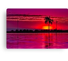 """A Townsville Tropical Dawning"" Canvas Print"