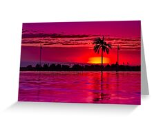 """""""A Townsville Tropical Dawning"""" Greeting Card"""