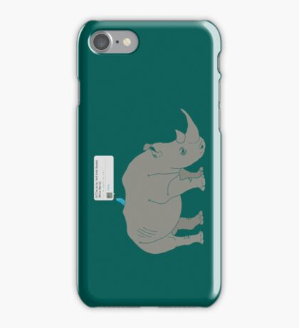 #Rhino #Savanna iPhone Case/Skin