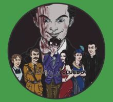 Cluedo Sherlock: The Only Possible Solution. Kids Tee