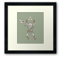 Link Adventure Framed Print