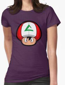Ash-Shroom Womens Fitted T-Shirt