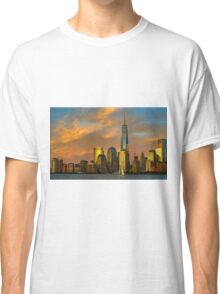 Sunset from Liberty Park Classic T-Shirt