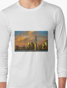 Sunset from Liberty Park Long Sleeve T-Shirt