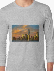 Sunset from Liberty Park Long Sleeve T-Shirt