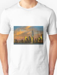 Sunset from Liberty Park Unisex T-Shirt