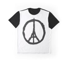 Pray For Paris Graphic T-Shirt