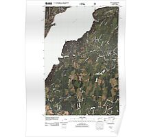 USGS Topo Map Washington State WA Holly 20110505 TM Poster
