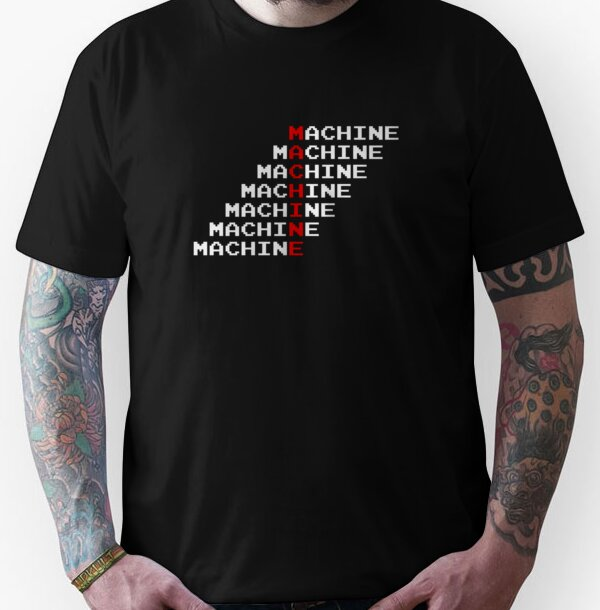 Man Machine Unisex T-Shirt