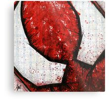 Man of the Spider Abstract Metal Print