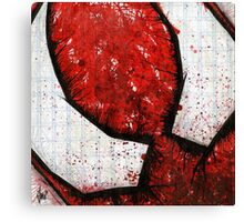 Man of the Spider Abstract Canvas Print