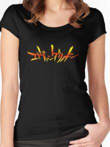 Neon Genesis Evangelion Women's Fitted Scoop T-Shirt