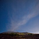 Starry night on Mt. Etna by Andrea Rapisarda