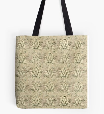 Siskiyou Trees Knit Tote Bag