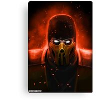 Scorpion Canvas Print
