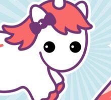 Unicorn Bacon Pounce Sticker