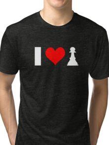 I <3 PAWN - dark shirt Tri-blend T-Shirt