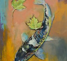Koi Fish by Michael Creese