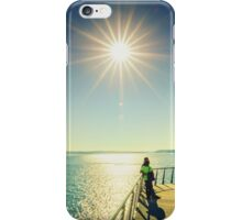 Sun Over The Sound iPhone Case/Skin