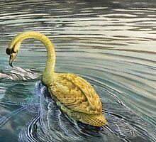 Leda and the Swan by tarrantmoss