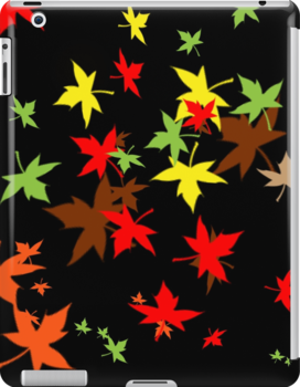 ipad case - Falling Leaves by Mark Podger