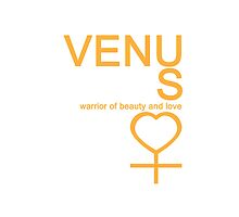 Venus Warrior Symbol iPhone4/4S Case by syaorankung