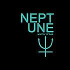 Neptune Warrior Symbol iPhone4/4S Case by syaorankung