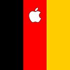 Germany flag iPhone case by mattiaterrando