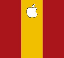 Spain flag iPhone case by mattiaterrando