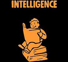 Fallout - S.P.E.C.I.A.L. Intelligence orange by GenoYon