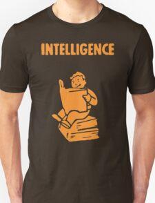 Fallout - S.P.E.C.I.A.L. Intelligence orange T-Shirt