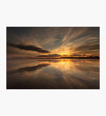 Powfoot Sunset Photographic Print