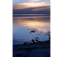 twilight blue Ceduna SA Photographic Print