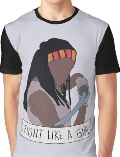 Fight like Michonne Graphic T-Shirt