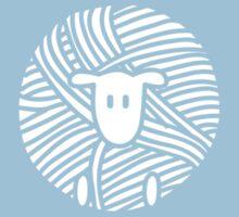 Yarn Ball Sheep Kids Tee