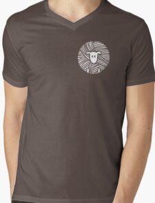 Yarn Ball Sheep Mens V-Neck T-Shirt