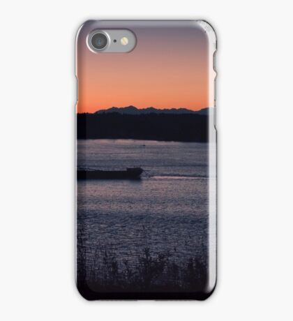 Tug Boat On The Puget Sound iPhone Case/Skin