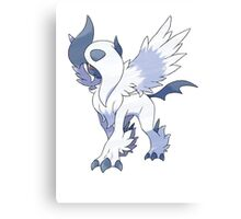 Mega Absol Canvas Print