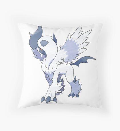 Mega Absol Throw Pillow