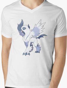 Mega Absol Mens V-Neck T-Shirt