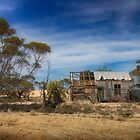On the Mallee Highway by Jan Pudney