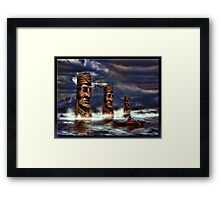 Apodaca Lake Framed Print