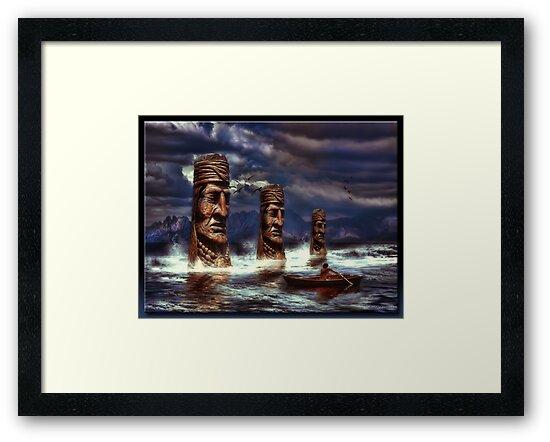 Apodaca Lake by Richard  Gerhard