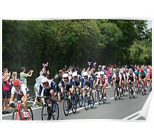 Team GB Mens Road Race Poster