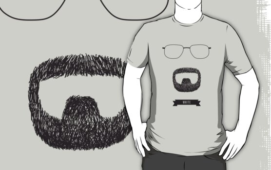 Beards with Glasses – Walter 'Heisenberg' White by Justin Ladia