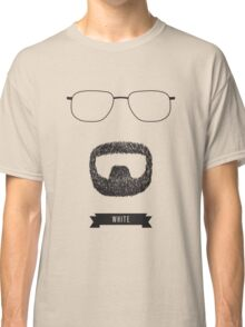 Beards with Glasses – Walter 'Heisenberg' White Classic T-Shirt