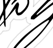 Gerard Way Autograph Sticker