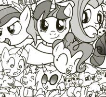 My Little Pony - Groupshot Sticker